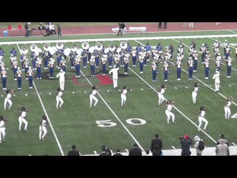 """2011 Albany State """"Marching RAMS Show Band"""" @ 2011 SIAC Championship Game"""