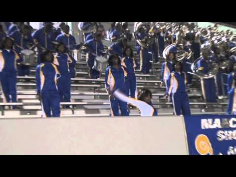 """Albany State """"Marching RAMS Show Band"""" in the Stands (2011)"""