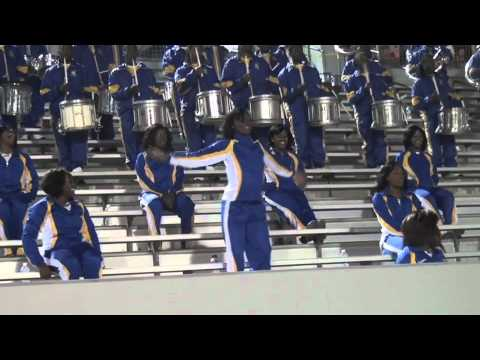 """Albany State University """"Marching RAMS SHOW BAND"""" 2011"""