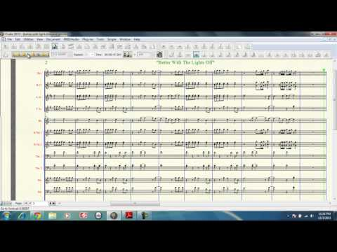 Better With The Lights Off New Boyz featuring Chris Brown Bounce Mix Marching Band Arrangement