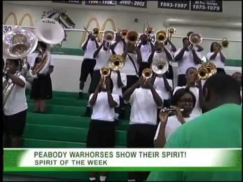PEABODY MAGNET HIGH SCHOOL PEP RALLY 2011