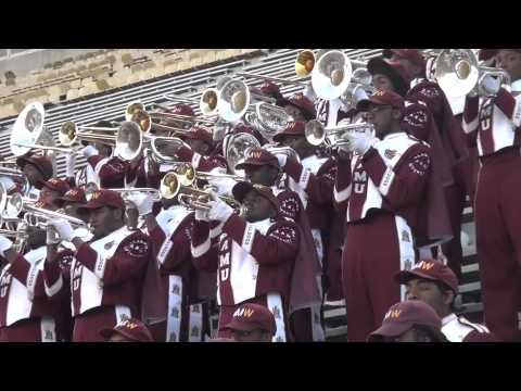 "Alabama A&M's : Marching Maroon and White playing ""ANGEL"" by Anita Baker"