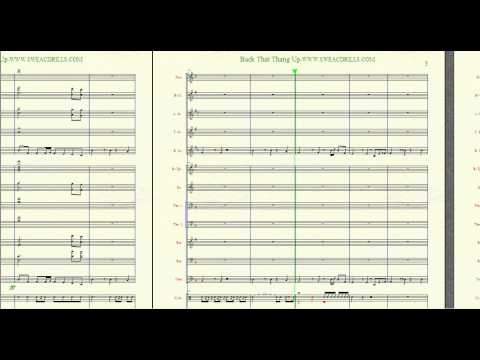 """Back That Thang Up""-Juvenile Arranged By: Brandon G Mitchell For Marching/Concert Band.."