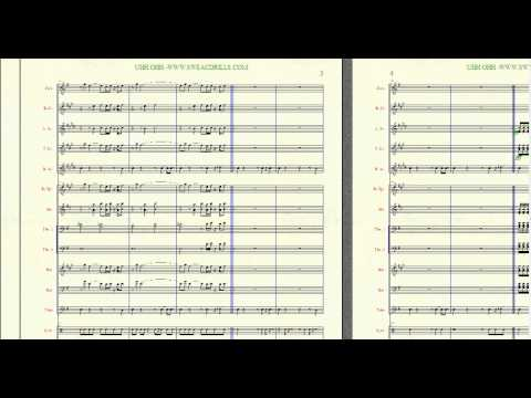 """UHH OHH"" FOR MARCHING/CONCERT BAND ARRANGED BY: BRANDON G. MITCHELL"