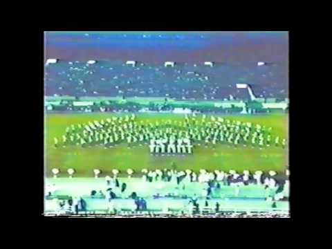 Mississippi Valley Marching band Halftime vs Grambling 1992