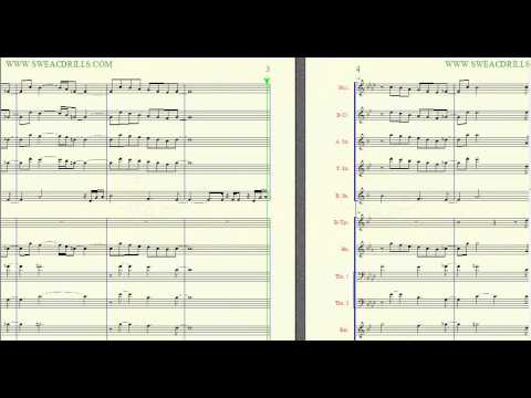 """Rain"" Swv-Arr. By: Brandon G. Mitchell For Marching/Concert Band"