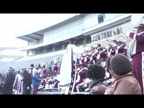 "Marching Maroon & White playing ""Shake your Pants"" by Cameo"