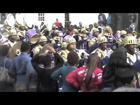 St. Aug Marching 100 Band at Zulu Parade 2012
