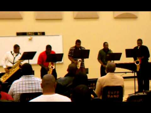 UAPB Saxes - A night in Tunisia