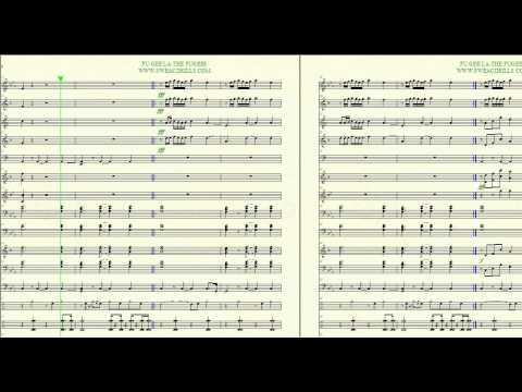 """Fu Gee La"" The Fugees Arr. By: Brandon G. Mitchell For Marching/Concert Band"