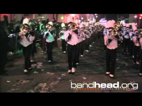Shaw H.S.(Ohio) Under Bridge for Bacchus Mardi Gras 2012