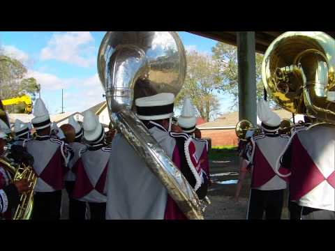 West st mary, Istrouma,and Beaumont Central band