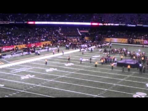 Grambling's World Famed Band playing Neck after Bayou Classic 2011