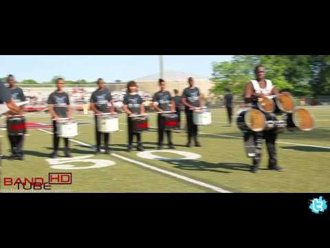 Cream Percussion Section- 2012 Band Brawl Routine