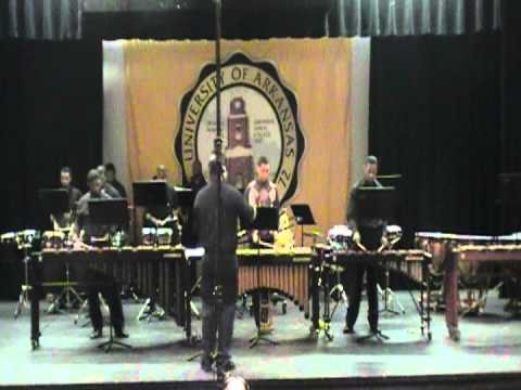 UAPB Percussion Ensemble - Samba De Lucia