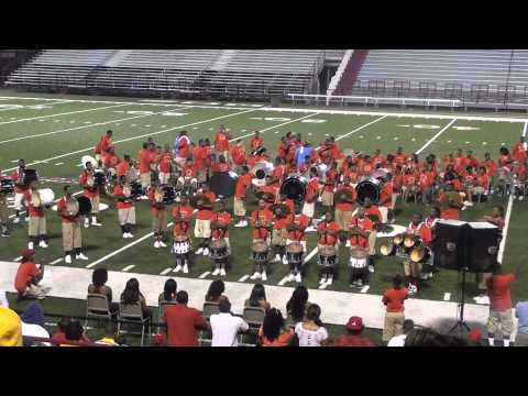 Arkansas Mass vs Memphis Mass DRUMLINE ROUND 2 2012