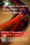 VERONA exhibith: New York City LIGHTPRINTS