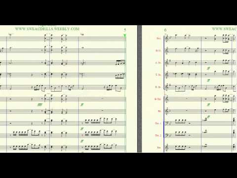 """NIGHT & DAY"" Al B. Sure Arranged By: Brandon G. Mitchell For Marching/Concert Band"