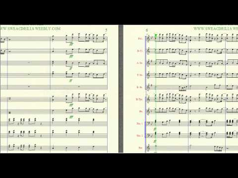 """ANOTHER ROUND"" CHRIS BROWN/MARY J. BLIDGE ARR. BY BRANDON G. MITCHELL FOR BAND"