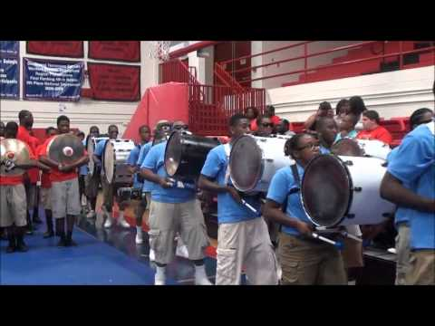 Memphis Mass Band ENTRANCE vs Magic City 2012