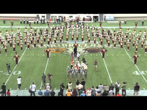 """BETHUNE-COOKMAN UNIVERSITY'S (MARCHING WILDCATS) PLAYING """"LOVE ALL OVER ME"""" AUDIO ONLY"""