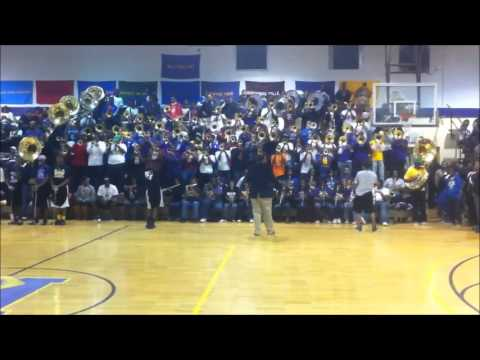 MEMPHIS MASS BAND VS MAGIC CITY BAND  PROMO 2012