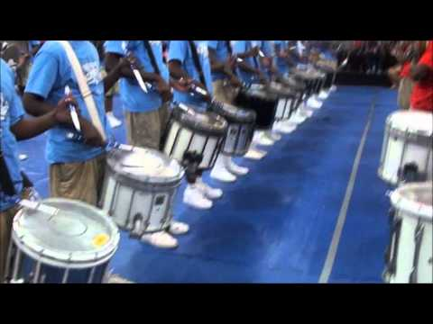 Memphis Mass Vs Magic City DRUMLINE ROUND 2 2012