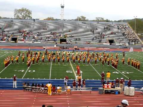 Central State University I.M.M. Dayton Classic Half Time 2012