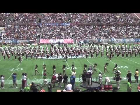 """Bethune-Cookman University """"Marching WildCats"""" @ 2012 SWAC/MEAC Challenge Halftime SHow"""