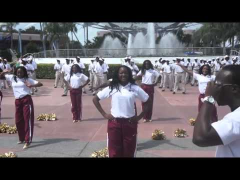 """Bethune-Cookman University- """"Marching Wildcats"""" @ 2012 MEAC/SWAC Challenge Parade"""