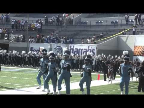 """2012 Southern Heritage Classic- """"Sonic Boom of the South"""" march into the Liberty Bowl"""