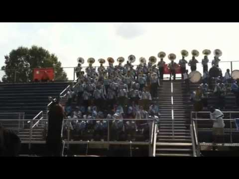 Livingstone College Marching Band 2012 Hollywood