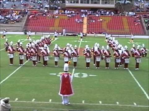 Tuskegee University Percussion Feature 2012 (Playing Upside Down!)