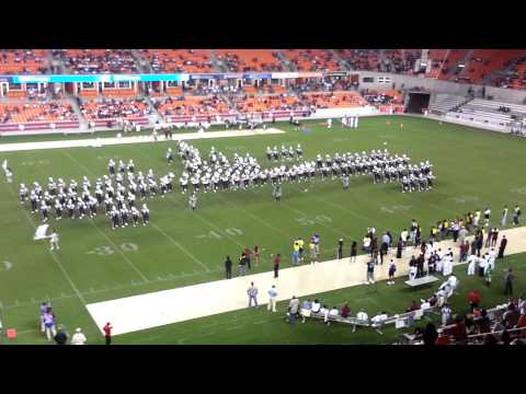 TXSU VS JSU HALFTIME 2012 BBVA Compass Houston, TX