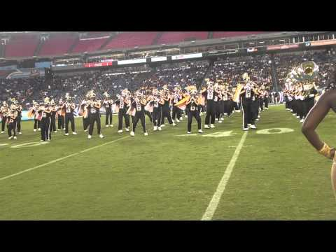 UAPB HALFTIME TENNESSEE HOMECOMING 2012