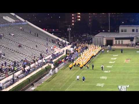 Southern marching out the stadium
