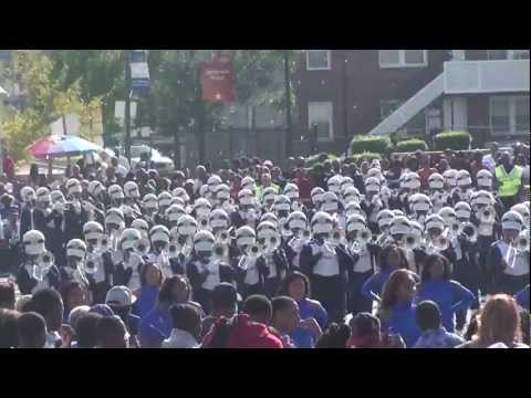 Tennessee State Band Homecoming Parade 2012