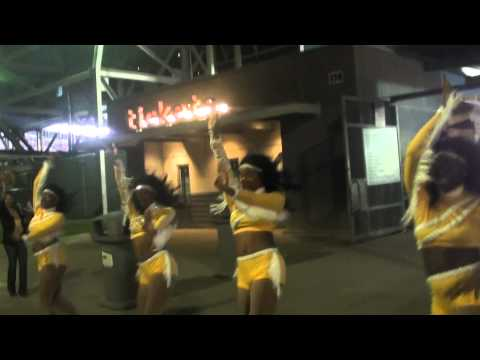 "UAPB ""AFFAIR"" MARCHING OUT TENNESSEE ST 2012"