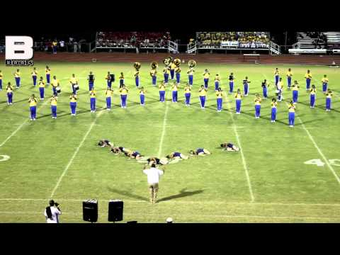 East Feliciana High School Band - Jeanerette Battle 2012