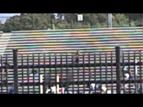 Jackson State University Band In Stands vs ASU 2012 (Tailgating View)