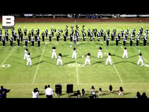 St Martinville High School Band - Jeanerette Battle 2012