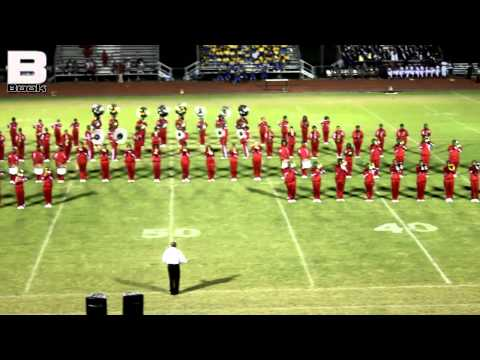 Baker High School - Jeanerette Battle 2012