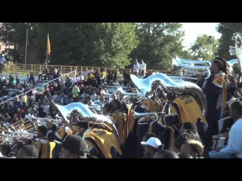 2012 North Carolina A&T (Blue & Gold Marching Machine) STANDS