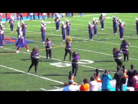 """Purple Thunder"" of EWC vs. ""The Honey Bees"" of ASU HBCU Danceline Battle #5"
