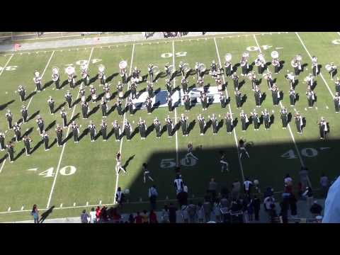 Mississippi Valley Halftime Jackson St Game 2012