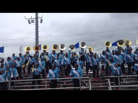 Livingstone College Band vs FSU 2012 - Work Hard Play Hard