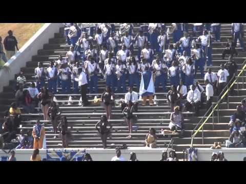 "2012 Fort Valley State University ""Blue Machine Marching"" playing ""CUT FRIENDS"""