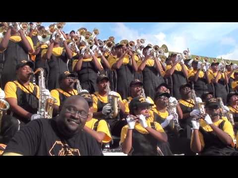 UAPB BAND - AIN'T NO STOPPIN' US NOW 2012