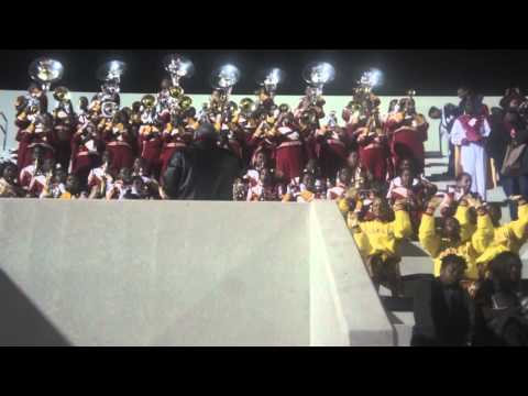 "2012 Marching Crimson Piper playing Dru Hill's ""We're Not Making Love No More"""