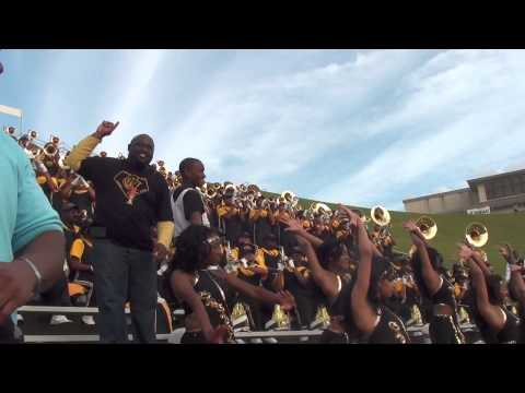 UAPB - FIERCE FANFARE VS GRAMBLING 2012